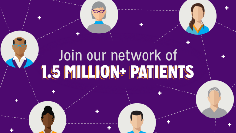 Join our network of 1.5 million+ patients